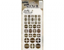 THS087 Stampers Anonymous Tim Holtz Layering Stencil - Screwed